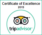 TripAdvisor Certificate of Excellence 2019